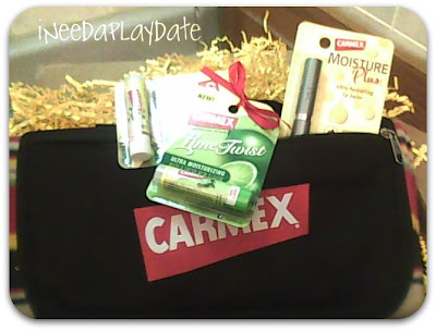 Do you know Carmex?  Vanilla, Lime and a Contest, too!