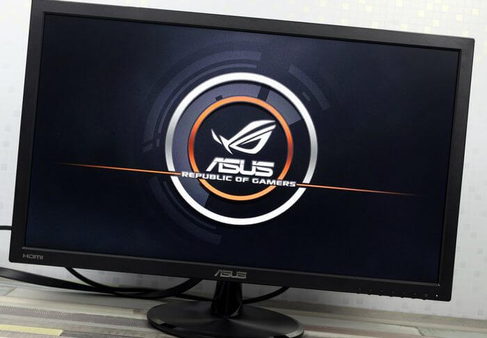 Review and Testing Monitor ASUS VP247H