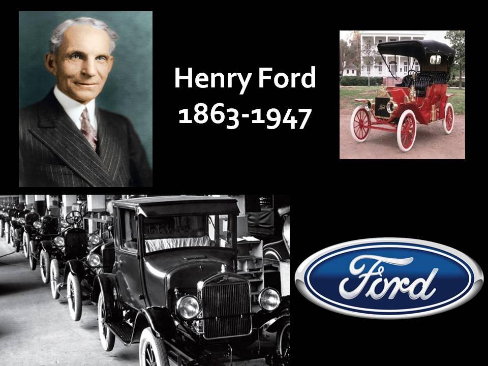 Ý nghĩa đằng sau tên những chiếc xe và hãng xe Henry+Ford,+1863-1947
