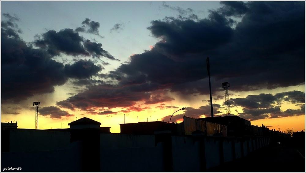 Atardecer en Rota - Cadiz - Nubes
