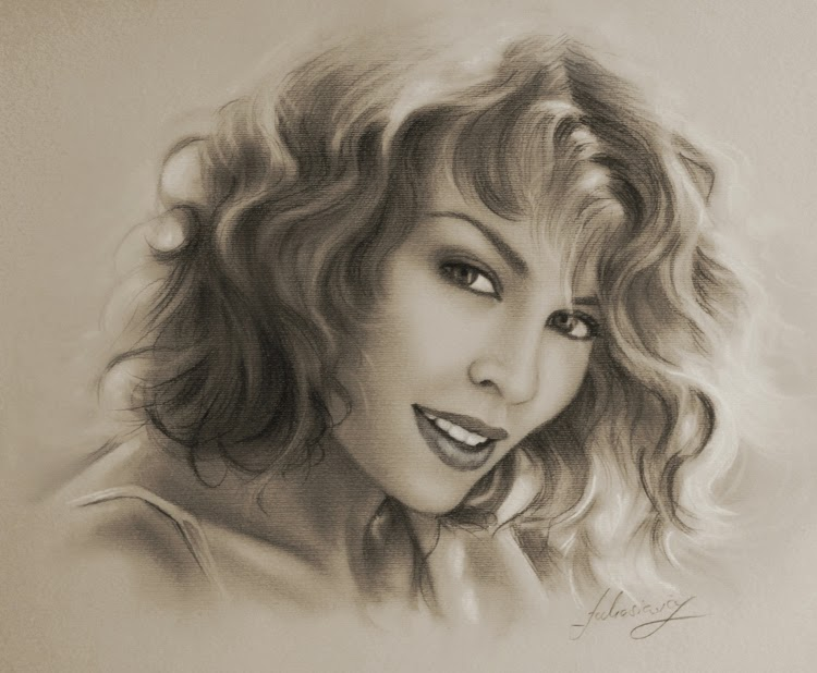 14-Kylie-Minogue-krzysztof20d-2b-and-8b-Pencils-Clear-Pastel-Celebrity-Drawings-www-designstack-co
