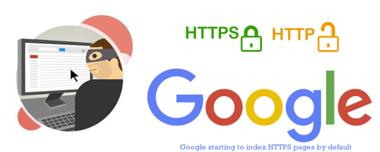 Google starting to index HTTPS pages by default