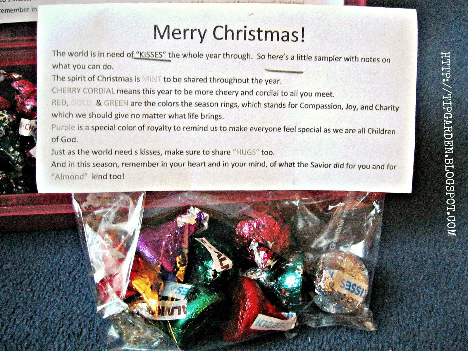Giving Christmas Gifts To Charity