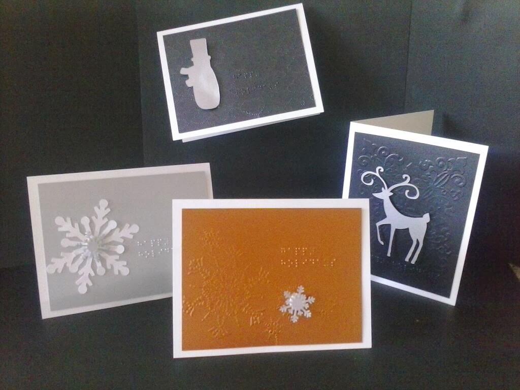 The Ever Changing Perspective Of Essceejulies Just In Time For Holidays Braille Greeting Cards