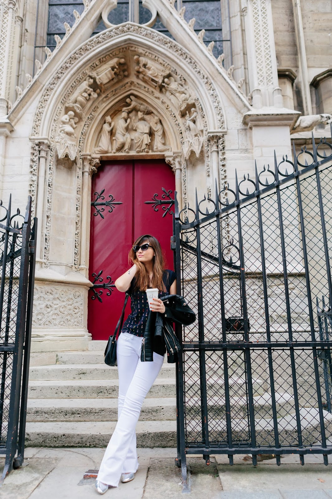 Blogger, Parisian style, Look of the day, Chic style, meet me in paree