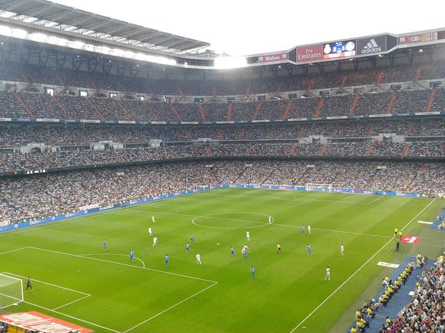 Estadio Santiago Bernabéu, Real Madrid (Madrid) En un partido de la Liga BBVA ante el Getafe C.F.