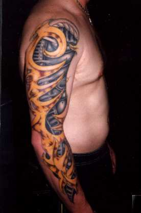 Biomechanical Tattoos on Biomechanical Tattoo Pictures Collection   Tattoo Picture  Photos And