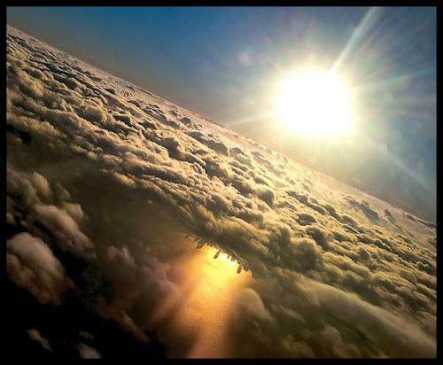 Imagens incríveis de janelas de avião #2 (26 fotos)