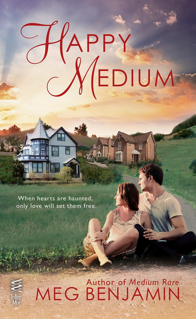 Its Raining Books Happy Medium By Meg Benjamin Review And Giveaway