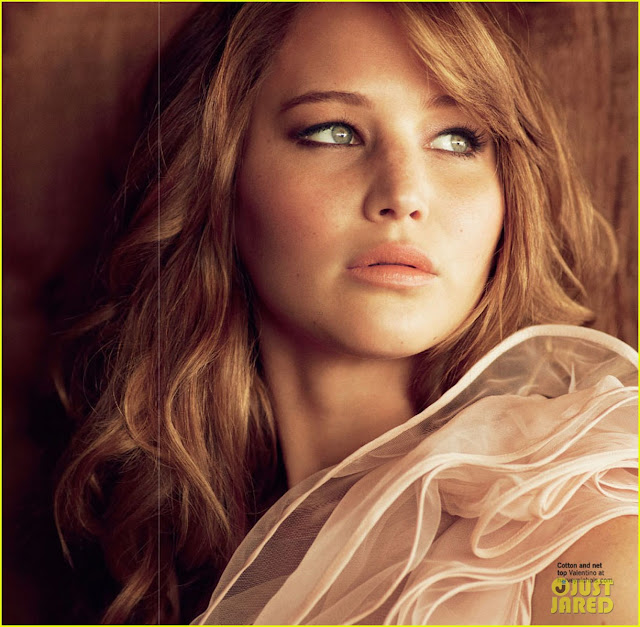 Jennifer Lawrence Photo Shoot Cover Glamour UK