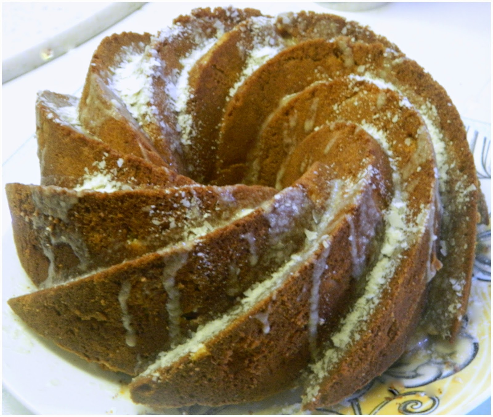 tropical pineapple bundt cake # bundt bakers