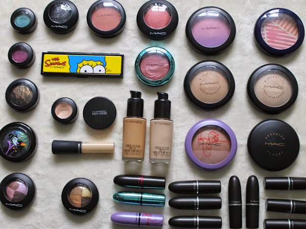 My MAC Cosmetics Collection.