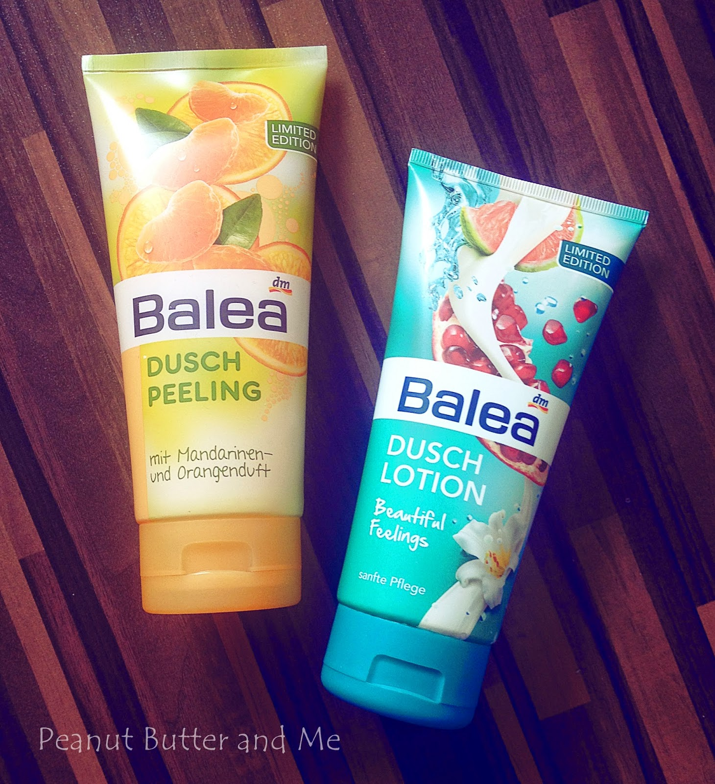 Balea dusch gel peeling balsam peeling dm zakupy limited limitowana edycja