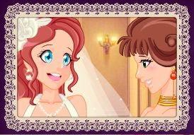 تلبيس العروسة الجديدة