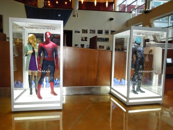 Amazing Spider-man 2 movie costume exhibit