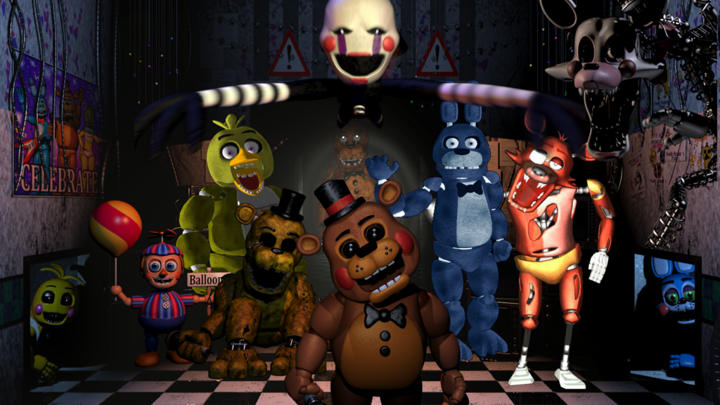 Five Nights at Freddy's v1.84 APK Mod