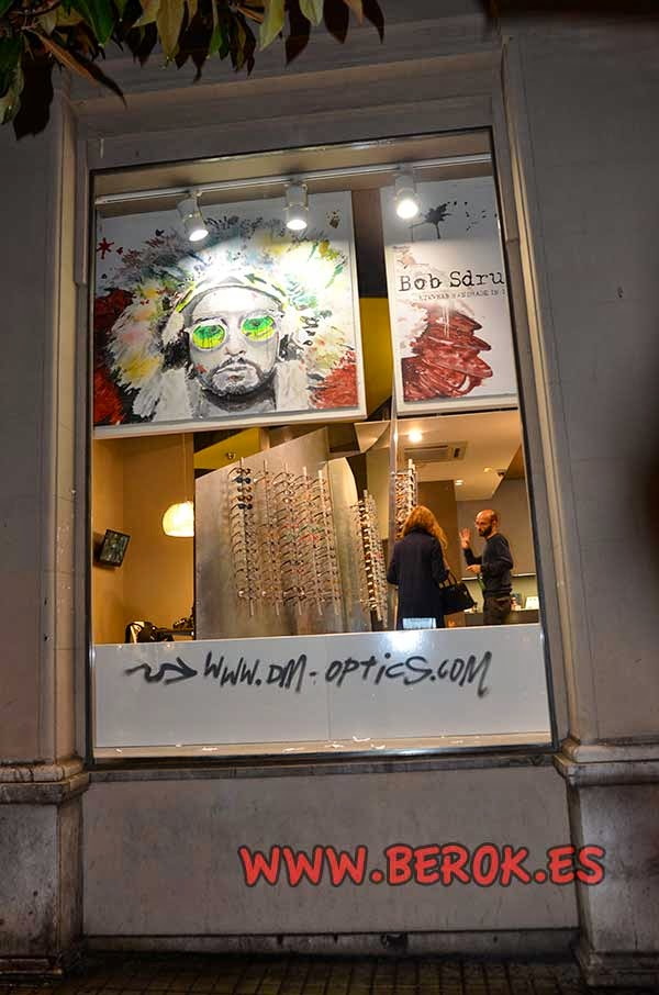 Decoración pintura Bob Sdrunk en Barcelona