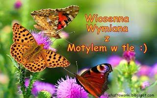 Wiosenna Wymiana z Motylem w tle