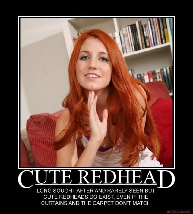 Redhead And The Carpet Matches