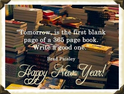 first day of blank 365 book quote happy new year image