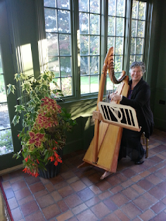 Join us Tonight (12-9-15) for our Holiday Coffee House with Harpist De Luna