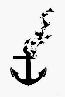 """♥ ♫ ♥ My future tattoo with the best friend :) The anchor symbolizes our friendship. One of the definitions is """"a central cohesive source of support and stability..."""" and that's what we've been for each other thru out the years. We've helped eachother through the lowest points in our life and shared some of the most joyous events. As things have changed, our friendship has remained the same.♥ ♫ ♥"""