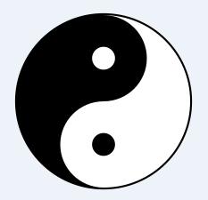 Simbolo Ying-Yang: el taijitu