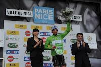 Sylvain Chavanel con el maillot verde