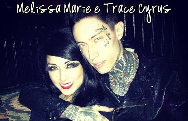 Melissa Marie And Trace Cyrus Melissa Marie e Trace Cyrus Trace Cyrus And Melissa Marie