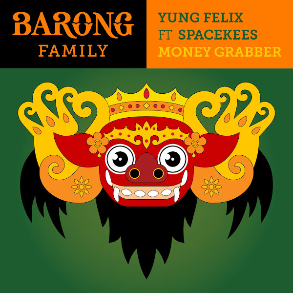 Yung Felix - Money Grabber (feat. Spacekees) - Single Cover
