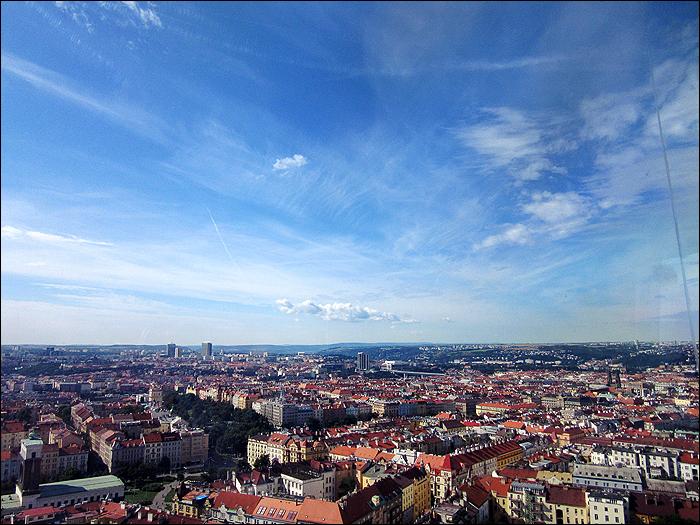 Aussicht vom Fernsehturm Prag, Prague