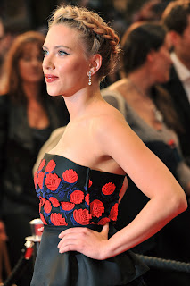 Scarlett Johansson Avengers London Premiere