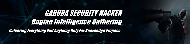 Garuda Security Hacker - Bagian Intelligence Gathering