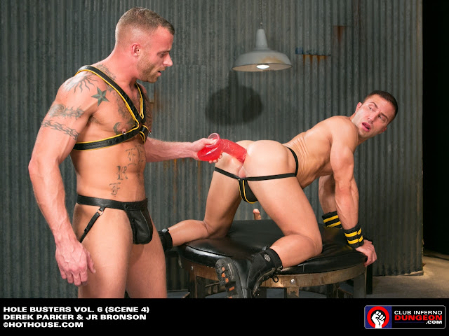 extreme penetration men in jockstrap