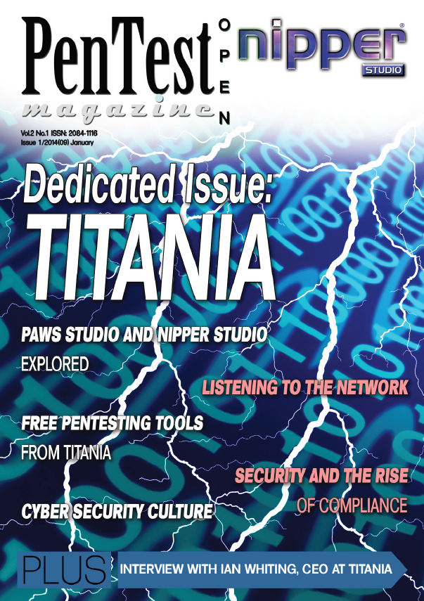 PenTest Magazine - Titania Dedicated Issue