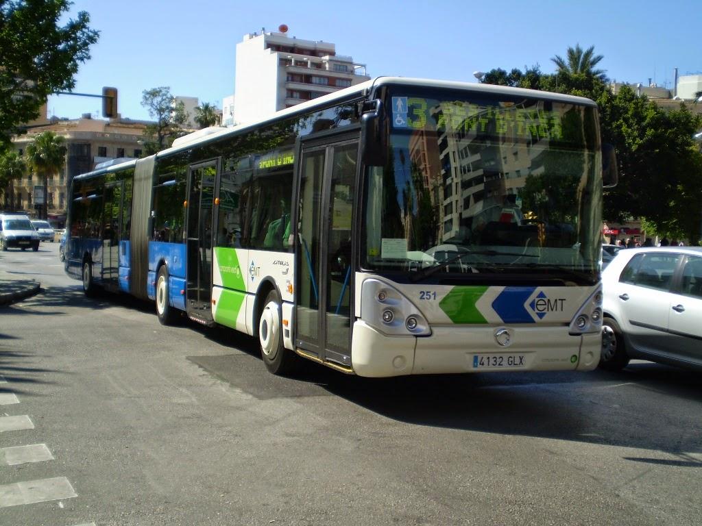 apima urbanitzacions linea de autobus 23 de la emt palma