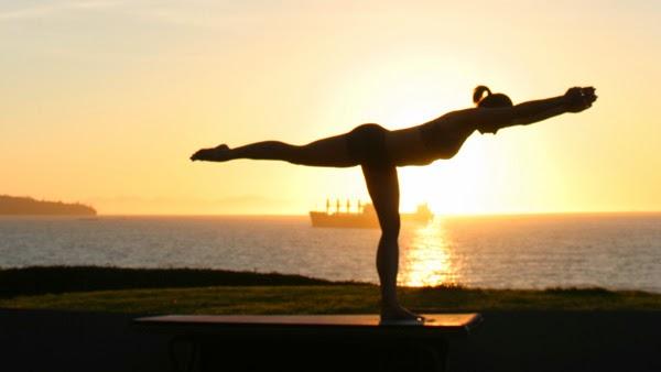 Warrior Pose Namaste Yoga
