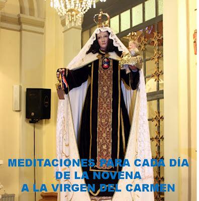 MEDITACIONES PARA CADA DÍA DE LA NOVENA