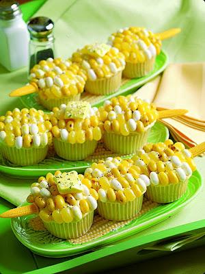 cupcake de milho