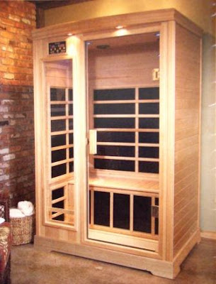 Auction Special:  A Beautiful Two-Person Sauna from Mealey's Gift and Sauna
