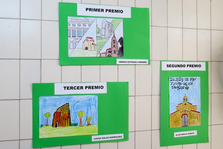 Diseño de sello personalizados para la Exposición Didáctica Itinerante Colegio La Ería, Oviedo