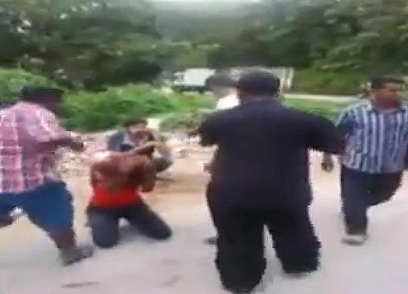 Video Cubaan 3 lelaki India Rogol Wanita Melayu Kantoi