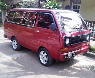 Mitsubishi Minicab Yang Antik dan Klasik dan Masih Eksis