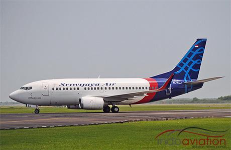 Sriwijaya Air Boeing 737-500 winglet