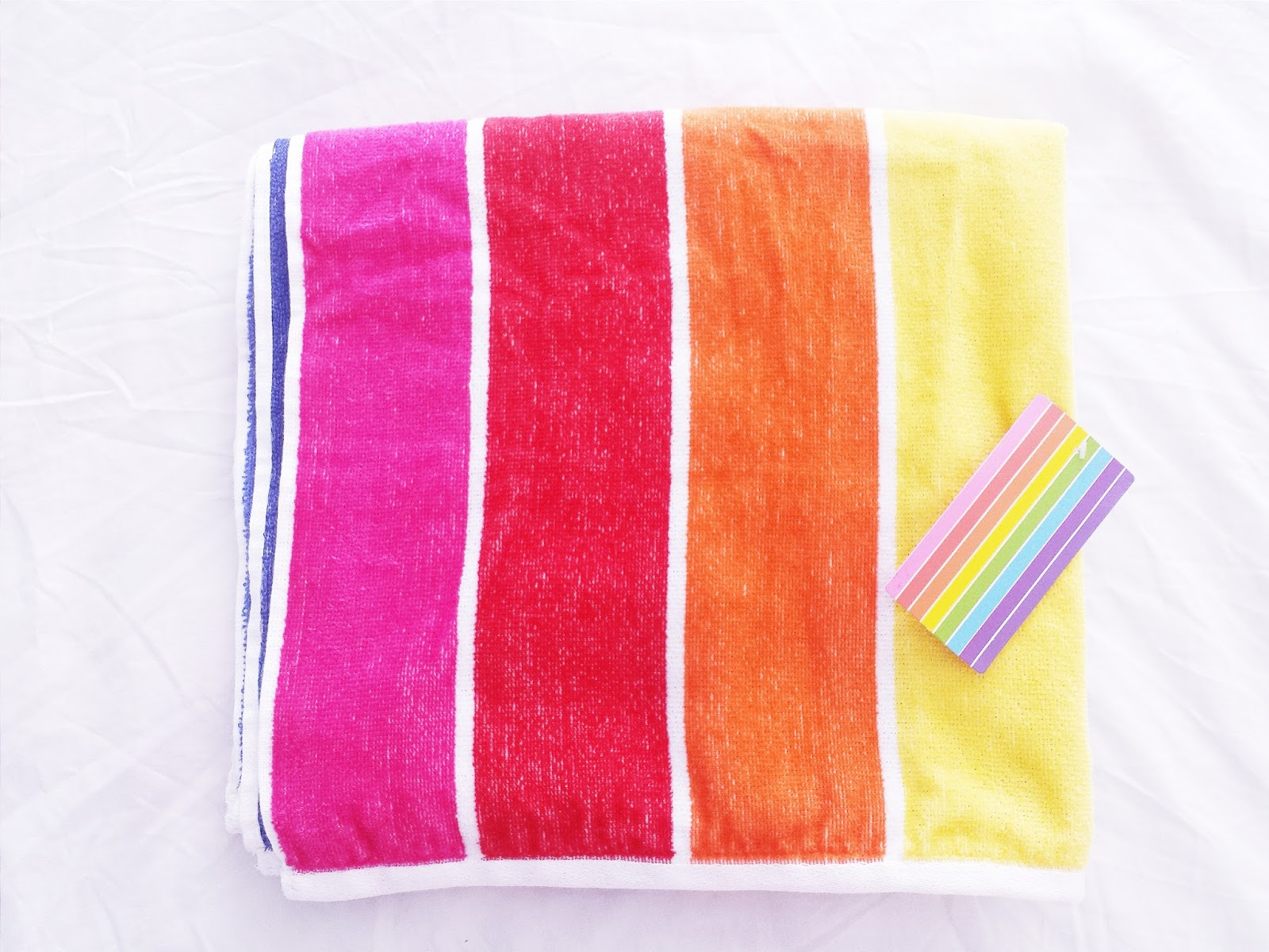 Primark Haul June 2015 Rainbow Towel