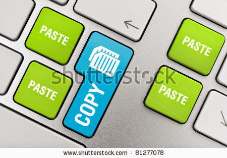 copy paste blog