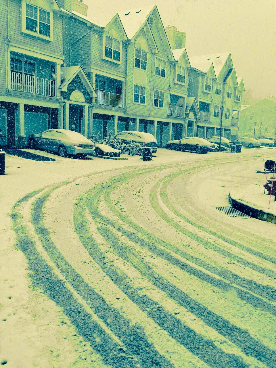 image Kawartha Lakes Snow Plowing Challenge image showing snowy suburban street
