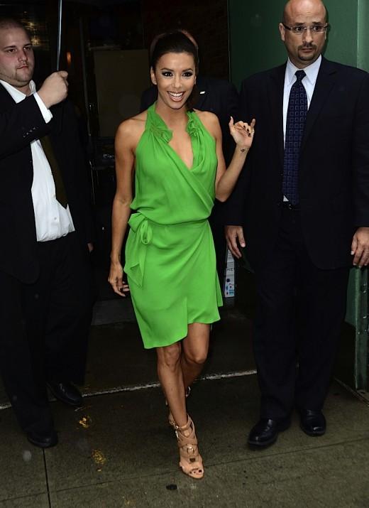 Eva Longoria Is Stunning In Green » Gossip | Eva Longoria