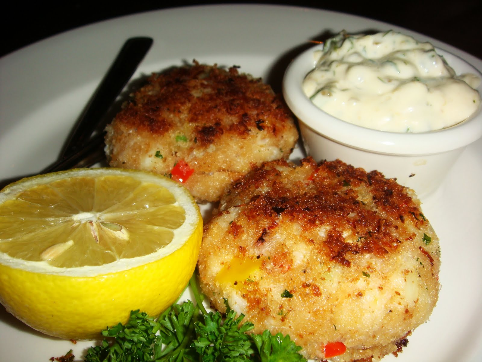 The Keg Crab Cakes