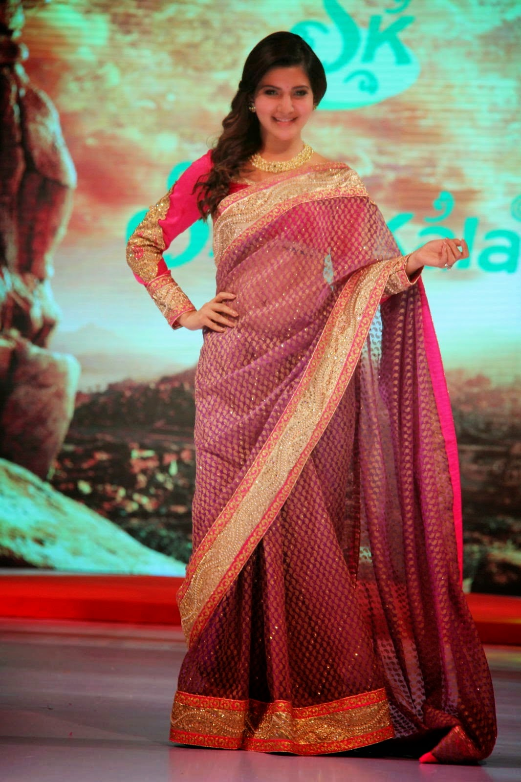 heroine samantha hot in saree photos images wallpapers gallery free